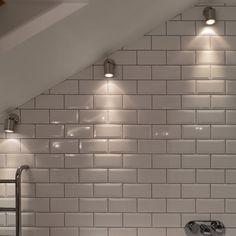 Angled wall spotlight led/halogen