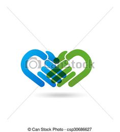 Vector of handshake people icon identity business card logo symbol template. Handshake Logo, People Icon, Pin Logo, Business School, Business Card Logo, Teamwork, Royalty Free Photos, Identity, Photographs