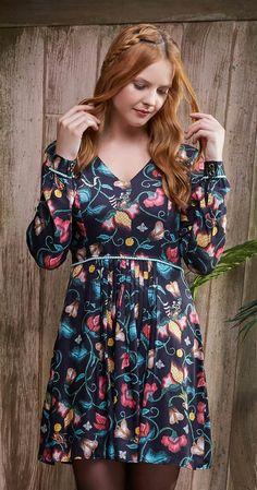 Só na Antix Store você encontra Vestido Floral Bordado com exclusividade na internet