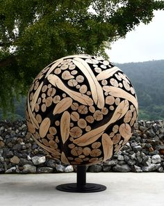 Korean Artist Turns Discarded Tree Trunks And Branches Into Art