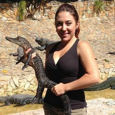 "Ashley Lawrence: The Gator Girl on ""Gator Boys"