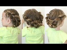 Pull Through Braided Updo - Collaboration with Ma Nouvelle Mode - YouTube