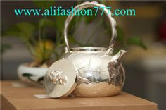 Handmade 999 Fine Silver Teapot-07,www.alifashion777.com wholesale Handmade 999 Fine Silver Teapot with high quality and low price.wholesale handmade the Silver teapot 999 fine silver for the business gift! we design and processing of personalized jewelry, jewellery for men, women jewelry, sterling silver jewelry, handmade jewelry. please contact us: skype: alifashion777 . whatsapp: 0086-186-8780-0583 if you have any question.