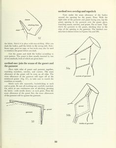 Advanced sewing techniques: under sleeves ------------------(link goes to advanced sewing guide so there are also other hand sewing methods/techniques at this link)