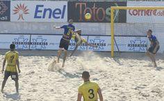 #BeachSoccer: #Corosiniti (Panarea) vs #Serginho (Samb)
