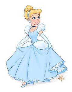 15 картинок с самыми милыми версиями Дисней Принцесс - YouLoveIt.ru