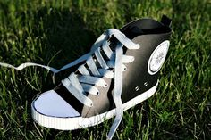 Converse paper shoes