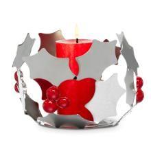 Modern Holly Candle Holder