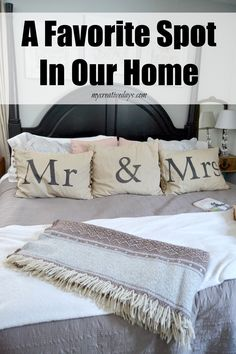 mycreativedays: A Favorite Spot In Our Home