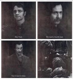 fred weasley, harry potter, james potter, marauders, remus lupin, sirius black