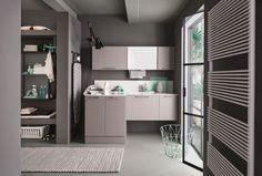 Estetica e funzionalità per la zona lavanderia
