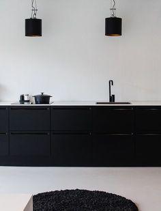 New Kitchen Ikea Kungsbacka Black Ideas Home Design Decor, Interior Desing, Küchen Design, House Design, Home Decor, Black Kitchens, Home Kitchens, Kitchen Black, Kitchen Interior
