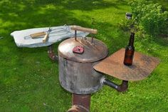 : 9 Steps (with Pictures) - Instructables Diy Rocket Stove, Build A Rocket, Rocket Stoves, Appropriate Technology, No Cook Meals, Grilling, Vinyl Wallpaper, Hummingbird, Simple