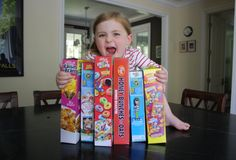 Ultimate Breakfast Cereal-A 4yr-old invents the ultimate breakfast cereal ... adorable and hilarious, and sure to send you into a terrible sugar coma