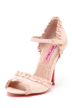 Betsey Johnson Balladd Ruffle Pump - Find 150+ Top Online Shoe Stores via http://AmericasMall.com/categories/shoes.html