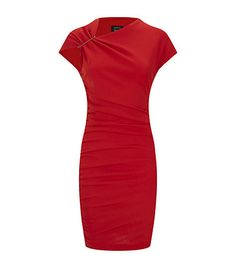 Lanvin Ruched Wool Jersey Dress | Harrods