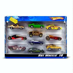 Amazon.com: Hot Wheels 10 Car Pack (Styles May Vary): Toys & Games