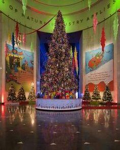 Christmas Trees around the World - MSI Chicago