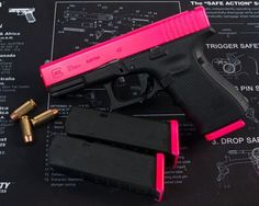 Pink Gun. I like it but I want it in a 19 not a 23