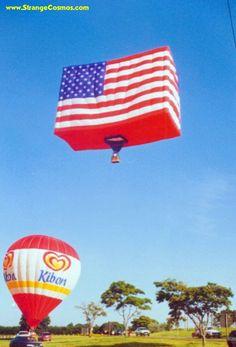 Cool Hot Air Balloons | COOL HOT AIR BALLOON - US FLAG!