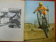 1973 Wild World of Yamaha Book 73 GT 1 250 360 MX DT3 DT 3 Vintage Motocross VMX | eBay