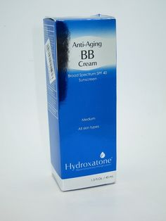 This Anti-Aging bb cream is one of the best bb creams around. This multifunctional product treats and conceals aging signs. Try Hydroxatone today and see a noticeable difference in your skin.
