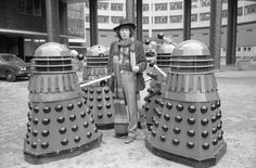 Tom Baker as a new Doctor Who.