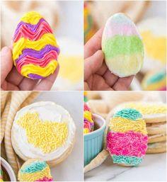 Homemade Sugar Cookies, Rolled Sugar Cookies, Homemade Frosting, Chewy Sugar Cookies, Sugar Cookie Frosting, Sugar Cookies Recipe, Cookie Recipes, Basic Cookies, Fun Cookies