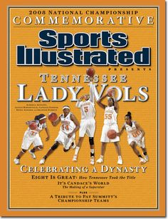 Led by the greatest women's coach of all time.....THE Pat Summitt