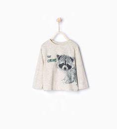 ZARA - KIDS - Raccoon T-shirt