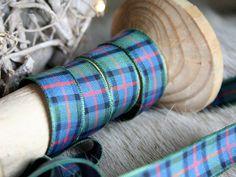 Flower of Scotland Tartan Ribbon Sewing Crafting by EllieMagpie
