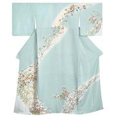 訪問着レンタルH052 Ethnic Outfits, Ethnic Clothes, Bell Sleeves, Bell Sleeve Top, Yukata, Kimono Top, Formal, Heaven, Tops