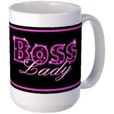 Boss Lady Mugs #bossladygifts #cafepress #saytoons