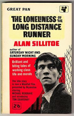 The Loneliness of the Long Distance Runner by Alan Sillitoe. Vintage Pan paperback - G505. Fourth printing - 1962. Film tie-in - cover shows Tom Courtney in a scene from the film version of the title story.