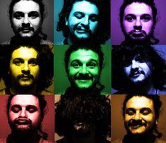 Retratos en colores