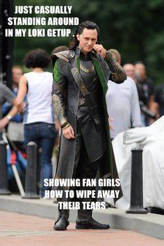 "Tom Hiddleston as ""Loki"", The Avengers, New York Loki Marvel, Loki Thor, Loki Laufeyson, Thomas William Hiddleston, Tom Hiddleston Loki, Bucky, Loki Costume, Loki God Of Mischief, Marvel Memes"
