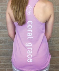 Our henna design is featured on the front of a soft and breathable lightweight racerback tank top. On the back we feature our signature seahorse outline on the nape of the neck and CORAL GRACE featured vertically down the back. This is a great tank to wear to the gym or just out and about this summer running errands.   60/40% cotton/poly Ladies Fit Printed in the USA!  A PORTION OF EACH SALE GOES TO HELP SAVE THE CORAL REEFS!