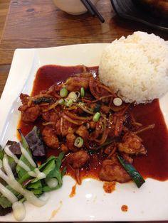 Korean food - Chicken Bulgogi