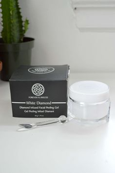 Product tested twice forever flawless white diamond infused facial peeling gel (retails $70) | sale price $30
