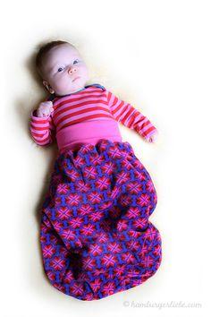 baby pucksack diy