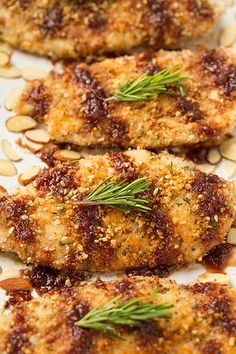 Almond Crusted Chicken with Strawberry Balsamic Sauce | Cooking Classy