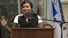 Actress and comedian Mindy Kaling was on-hand to give a very funny speech at…
