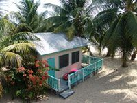 Seaside Cabana, Placencia, Belize $65/night 30 feet from the ocean!