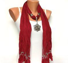 VaLentiNes jewelry scarf