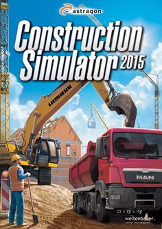 Construction Simulator 2015 Description: In Construction Simulator 2015 you take the controls of 15 realistic construction machines made by Liebherr Still and MAN with high-quality graphics. Software, Mac Games, Free Pc Games, Game Codes, Simulation Games, Windows, Gaming Computer, Me On A Map, Online Games