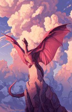 Dragon Spirit — Art by turnipBerry Mythical Creatures Art, Mythological Creatures, Magical Creatures, Dragon Sketch, Dragon Artwork, Cool Dragon Drawings, Drawings Of Dragons, Cool Dragons, Dragon Pictures