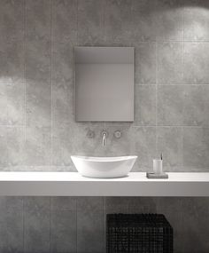 Capri Gloss Grey Wall Tile