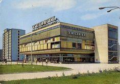 """Miejski Handel Detaliczny """"Teofil"""". Skan pocztówki z 1969r."""