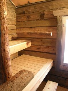 savusaunan lauteet - Поиск в Google Sauna House, Sauna Ideas, Sauna Steam Room, Sauna Design, Outdoor Sauna, Finnish Sauna, Off Grid Cabin, Saunas, Cabins In The Woods