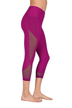 Women's Active Leggings - 90 Degree By Reflex Women's High Waist Athletic Leggings with Smartphone Pocket at Women's Clothing store: Designer Leggings, Best Leggings, Women's Leggings, Workout Leggings, Workout Pants, Amazon Clothes, 90 Degree By Reflex, Sexy Curves, Long Tops